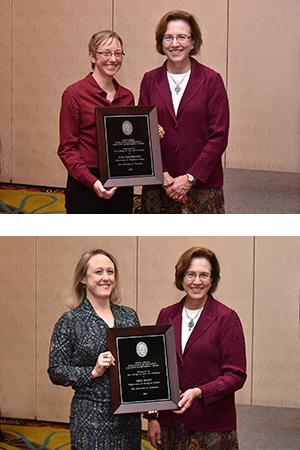 Shepardson, Darby Honored at Annual Faculty Awards Banquet