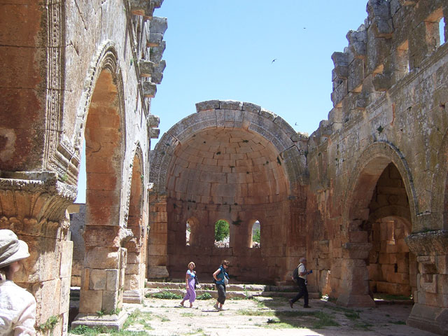 Early Churches in Syria Early Church at Qalb Lozeh
